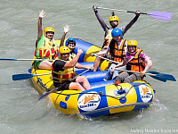 Inflatable Raft 13f for rafting