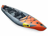 "Cross functional inflatable canoe ""Vega-3"""