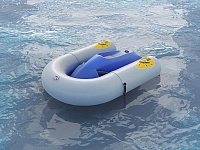 Inflatable Seabob dock