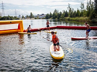 Inflatable amusement «SUP POLO» and «SUP BALL»